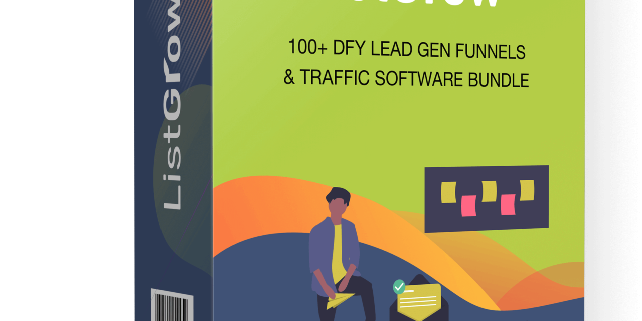 ListGrow Review – Get 100+ DFY Funnels, Increase Your Traffic, Grow Your Email List!