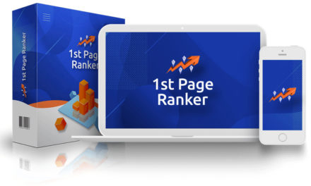 1ST Page Ranker Review – Achieve the Best Possible Ranking Results with This Unique Product